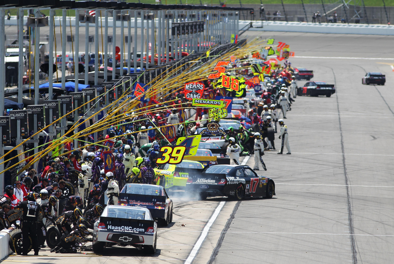 A NASCAR team takes many
